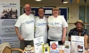 stroke group fundraising